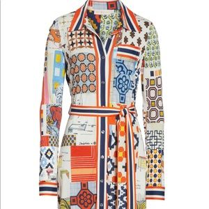 1ef9ac67e37 Tory Burch Dresses - SOLD OUT Tory Burch Laurence Print Shirtdress